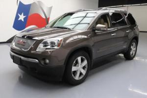 2012 GMC Acadia SLT-2 LEATHER DUAL SUNROOF NAV DVD