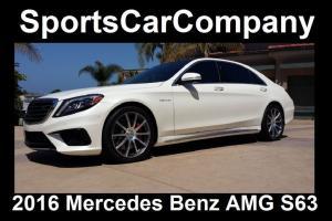 2016 Mercedes-Benz S-Class AMG S63 SEDAN