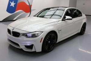 2015 BMW M3 SEDAN EXECUTIVE M DCT HTD SEATS NAV HUD