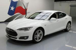 2014 Tesla Model S TECH NAV REAR CAM HTD SEATS