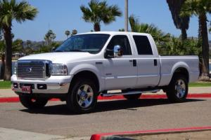 2006 Ford F-250 Lariat 6.0L DIESEL CREW CAB SHORT BED 4X4 4WD