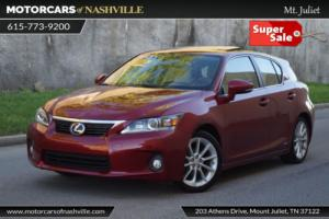 2013 Lexus CT 200h 5dr Sedan Hybrid