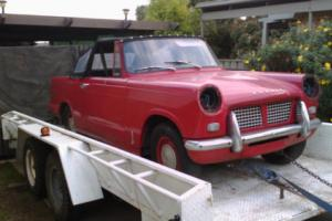 1964 Triumph Herald convertable project for Sale