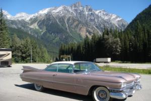 1959 Cadillac 2 Door Coupe Series 62