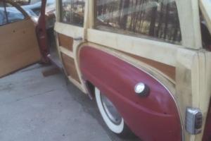 1949 Chrysler Royal woddie wagon