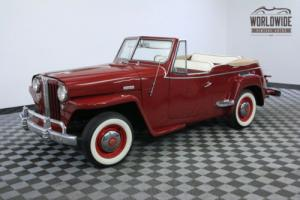 1948 Willys JEEPSTER FRAME OFF RESTORATION RARE