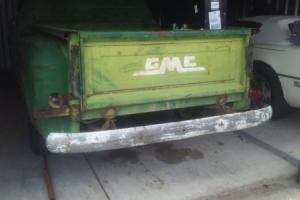 1956 GMC 101 1956 GMC V8 1/2 ton Stepside  = CHEVY APACHE CAMEO