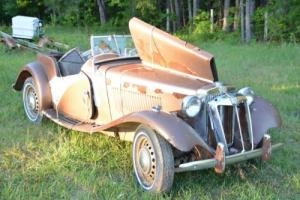 1950 MG T-Series