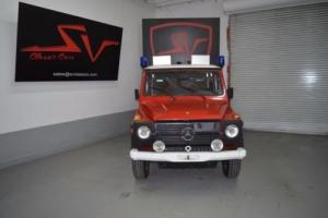 1980 Mercedes-Benz G-Class 4D Photo