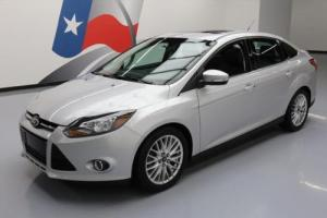 2014 Ford Focus TITANIUM SUNROOF LEATHER REAR CAM