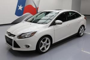2014 Ford Focus TITANIUM SUNROOF NAV HTD LEATHER