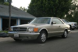 1990 Mercedes-Benz 500-Series 560SEC