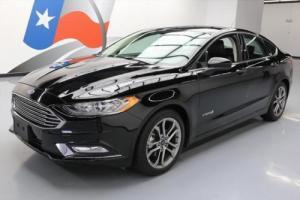 2017 Ford Fusion SE HYBRID REAR CAM BLK ON BLK
