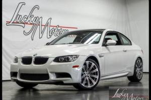 2013 BMW M3 Coupe Premium Pkg 1 Owner Low Miles!