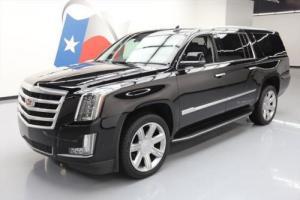 2017 Cadillac Escalade ESV LUXURY 4X4 SUNROOF NAV 22'S