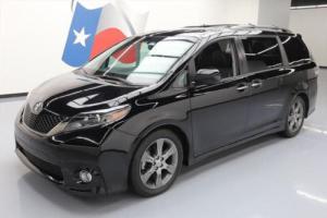 2015 Toyota Sienna SE PREM SUNROOF LEATHER NAV DVD