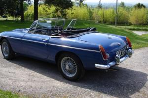 MG C ROADSTER BLUE