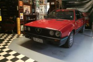 Alfa Romeo Sprint 1986 Photo