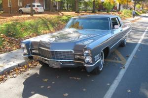 1968 Cadillac DeVille leather | eBay