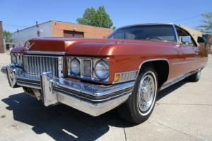 1973 Cadillac DeVille NO RESERVE AUCTION - LAST HIGHEST BIDDER WINS CAR!