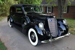 1939 Lincoln Model K Judkins Two-Window Berline 417-A, Aluminum Body