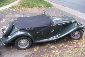 "1955 MG T-Series ""TF""-1500 Photo"