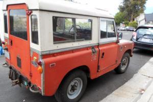 1969 Land Rover Series 2a Photo