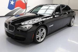 2012 BMW 7-Series 740LI M SPORT SUNROOF NAV REAR CAM 20'S