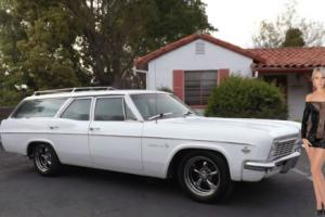 1966 Chevrolet Impala Wagon 9-Passenger V8 Surf Wagen Family Truckster