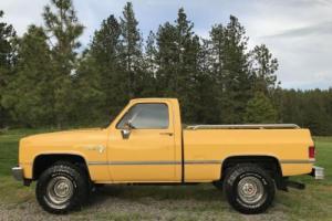 1985 Chevrolet C-10 chevy K10 C10 C1500 C2500 truck