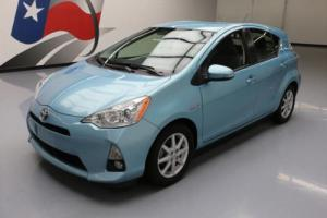 2013 Toyota Prius C FOUR HYBRID HTD LEATHER NAV