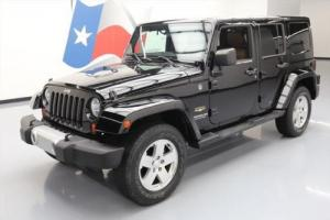 2012 Jeep Wrangler SAHARA 4X4 AUTO HTD LEATHER NAV
