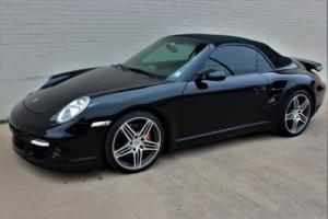2008 Porsche 911 Turbo AWD 2dr Convertible Convertible F6 3.6L