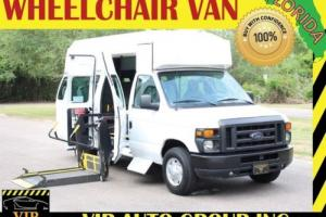 2010 Ford E-Series Van Econoline E350 Handicap Braun Wheelchair Van