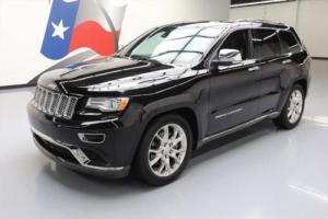 2015 Jeep Grand Cherokee SUMMIT 4X4 HEMI PANO NAV