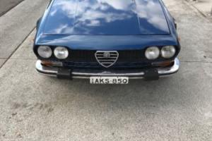 Alfa Romeo gtv 1977 Photo