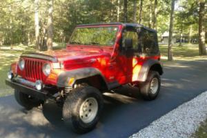 1998 Jeep Wrangler Sport 4x4