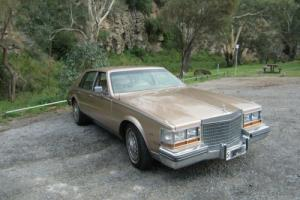 Cadillac V8 Seville 1981 RHD absolutely great original cond.