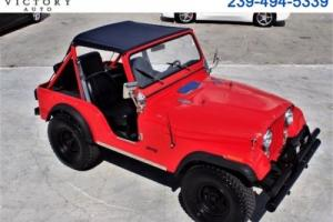 1977 Jeep Wrangler CJ5