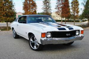 1972 Chevrolet Chevelle SS 4-Speed 454 V8 Stunning Restored Muscle!