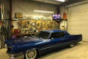1970 Cadillac DeVille Not bagged lowered , hot rod , custom, white walls