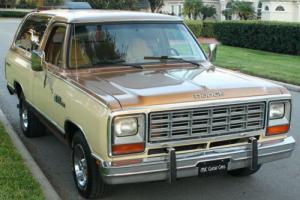 1985 Dodge Ramcharger PROSPECTOR - 7K MILES