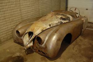 1951 Jaguar XK 120 Roadster Frame, front nose.Heritage Certificat Photo