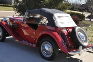 1950 MG T-Series TD Photo