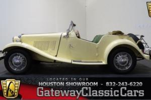 1952 MG T-Series --