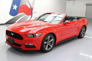 2015 Ford Mustang V6 CONVERTIBLE AUTOMATIC REAR CAM