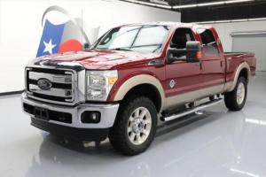 2014 Ford F-250 LARIAT CREW 4X4 DIESEL LEATHER 20'S