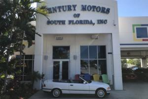 1994 BMW 3-Series 325iC 1 OWNER WHITE LOW MILES CONV