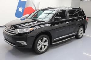 2013 Toyota Highlander LTD HTD LEATHER SUNROOF NAV