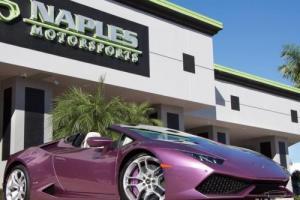 2017 Lamborghini Other LP 610-4 Spyder